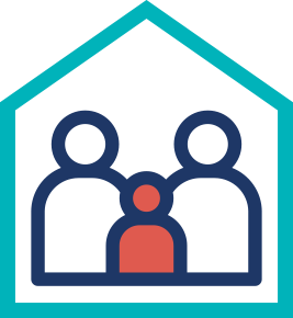 Family genetics home icon